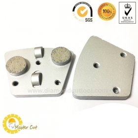 Superme PCD diamond grinding shoe plate for floor coating removal