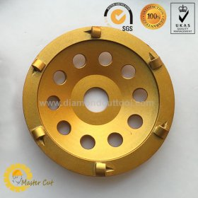 4.5 inch PCD diamond grinding cup wheel for removing floor coating