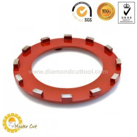 240mm Klindex 12 segment diamond grinding ring wheel for concrete