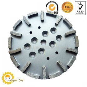 10 inch bolts-on diamond grinding plate for Blastrac and Edco grinder