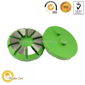 "Buy 3"" metal bond diamond concrete floor grinding disc with 2 pin from Chinese supplier"