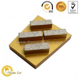 Buy floor diamond grinding wedge block for terrazzo and concrete