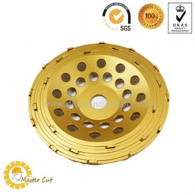 Superme PCD diamond grinding cup wheel for removing floor coatings for sale