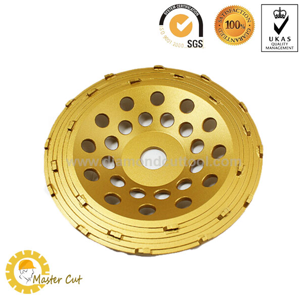 split PCD grinding cup wheel