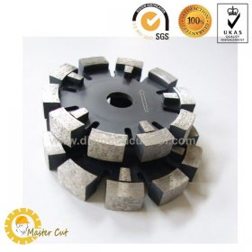 Diamond tuck point saw blade for concrete and brick wall grooving