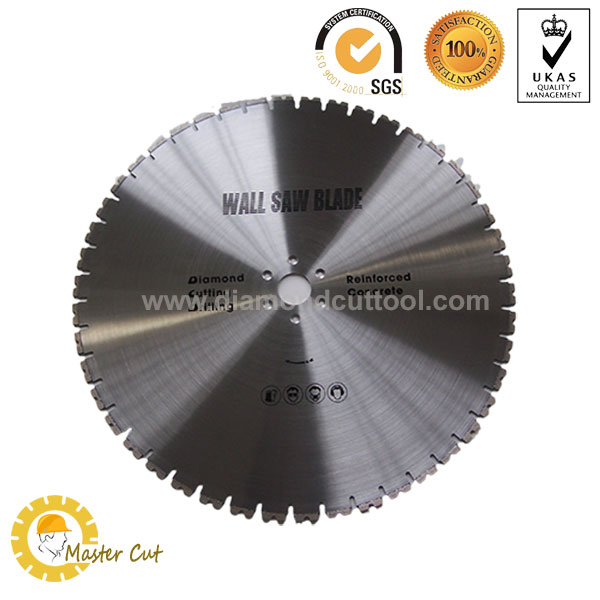 Diamond wall saw blade