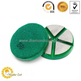 3 inch ceramic bond transitional ceramic concrete floor polishing pads