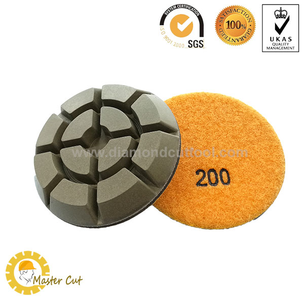 3 inch resin floor polishing pads