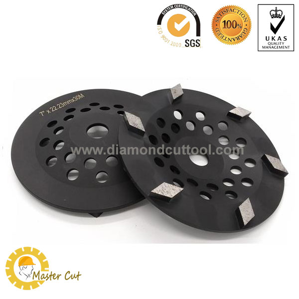 Tornado diamond grinding cup wheel