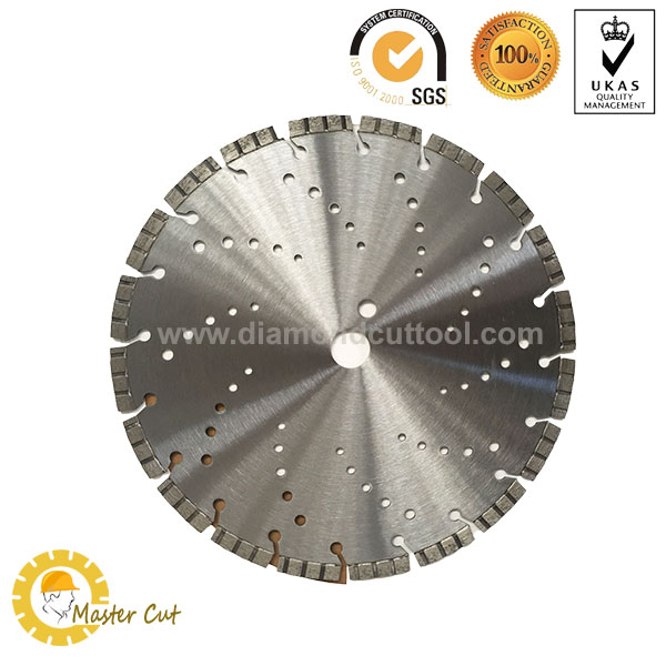 laser welded concrete diamond blade